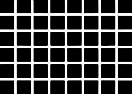 Optical art grid in black and grey with white dots Stock Vector - 21800053