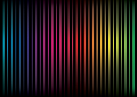 Colorful abstract lines with a darker gradient Vector