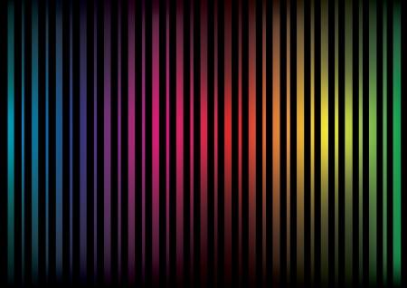 Líneas abstractas de colores con un gradiente más oscuro Foto de archivo - 22545276