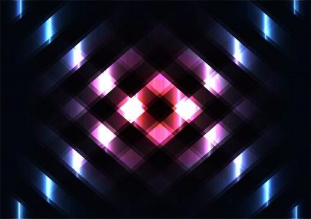 vector abstraction with lighting effects in the Vector Illustration