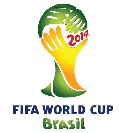 브라질 축구의 공식 로고 월드컵 2014