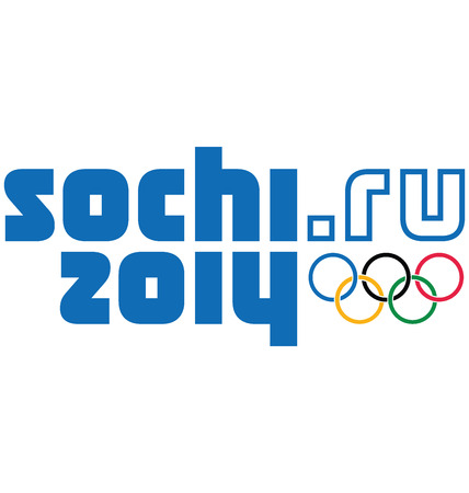 The official logo of the 2014 Winter Olympics