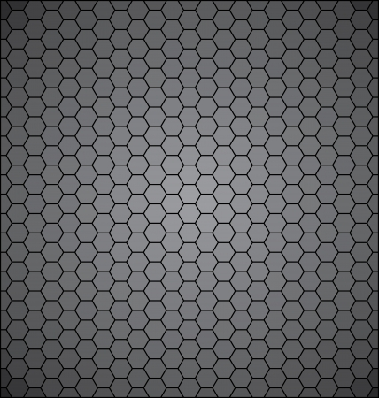 Abstract background consisting of pentagonal polygons Illustration