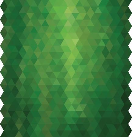 Bright retro background with colored triangles.