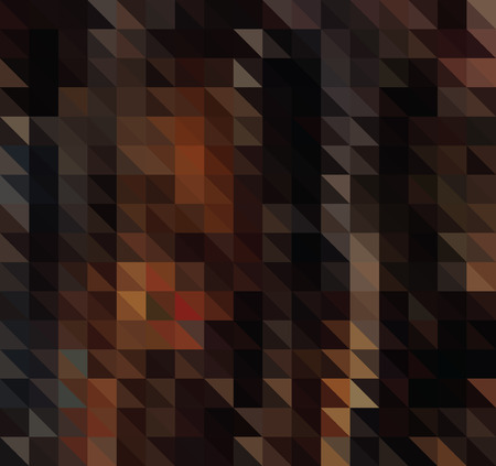 Bright retro background with colored triangles