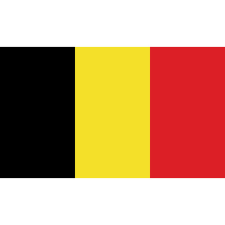 Belgium flag vector illustration. created EPS 10 Vector