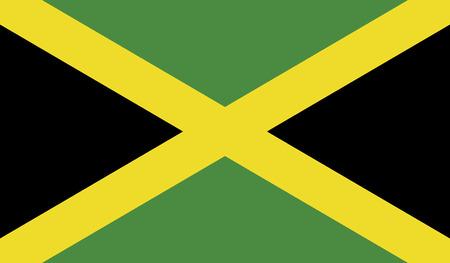 jamaica: Jamaica flag vector illustration  Illustration