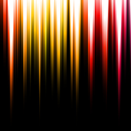 emanating: Colorful abstract rays emanating from the top
