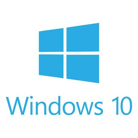 マイクロソフト社の新しい OS Windows 10 のロゴ