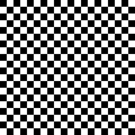 Black and white seamless texture checkerboard Illustration
