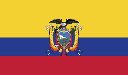 independent: Ecuador.vector flag of the independent state