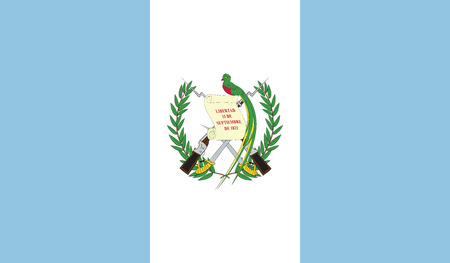 recognized: Guatemala.vector flag of the independent state