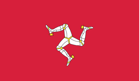 independent: Man.vector flag of the independent state