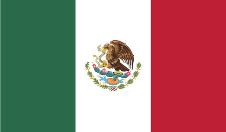 Mexico.vector flag of the independent state