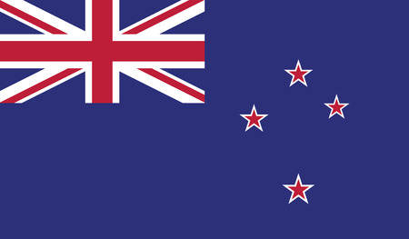 zealand: New Zealand.vector flag of the independent state