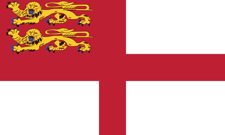 flagging: Sark flag vector illustration.  Illustration
