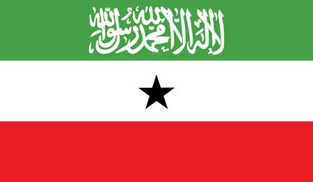 flagging: Somaliland flag vector illustration.