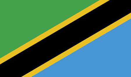recognized: Tanzania.vector flag of the independent state