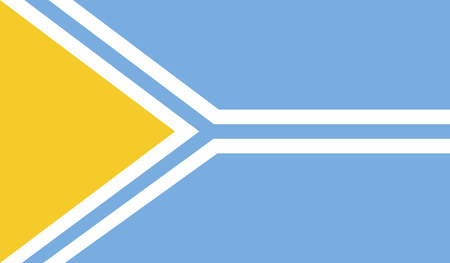 flagging: Tuva flag vector illustration.