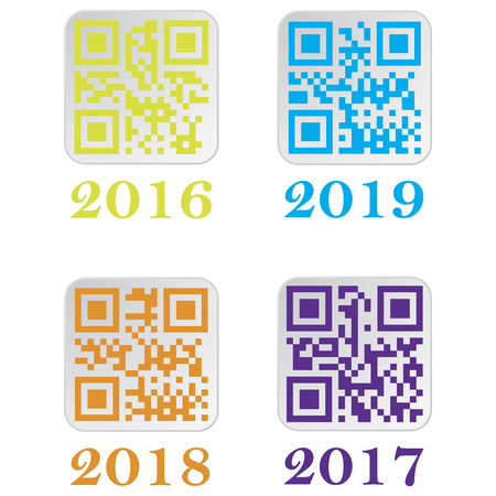 Beautiful QR Code. This QR Code set the date