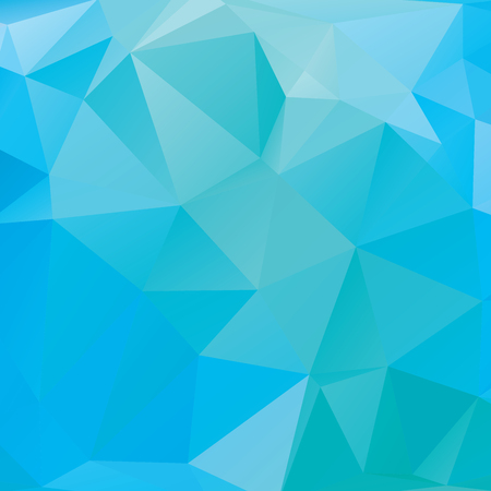 Abstract geometric background version 1. Multicolored triangles. Beautiful inscription. Triangle background with bright lines. Pattern of crystal geometric shapes. Mosaic banner Illustration