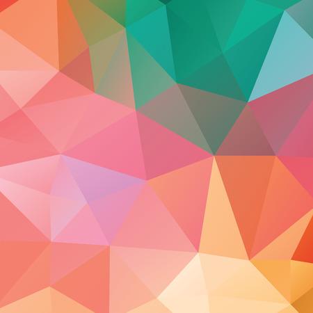 fondo geometrico: Resumen geom�trica versi�n de fondo 1. tri�ngulos multicolores. Hermosa inscripci�n. Tri�ngulo de fondo con l�neas brillantes. Patr�n de formas geom�tricas de cristal. Bandera Mosaic Vectores