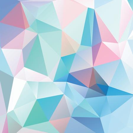 elasticity: Resumen geométrica versión de fondo 1. triángulos multicolores. Hermosa inscripción. Triángulo de fondo con líneas brillantes. Patrón de formas geométricas de cristal. Bandera Mosaic Vectores
