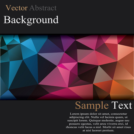 abstract vector: Abstract 3d vector technology background with wireframe structure. Vector digital background for web, applications, business. Abstract vector wallpaper. Party abstract vector background