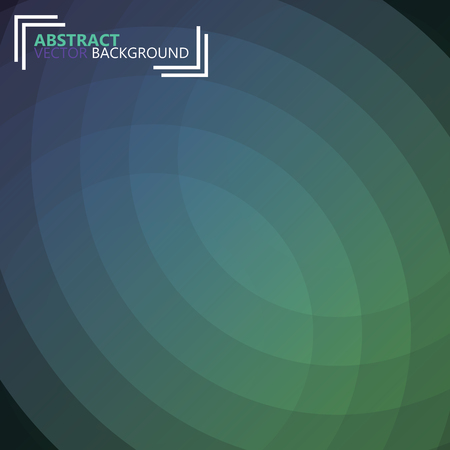 intent: Futuristic circle background with copyspace for your message Illustration