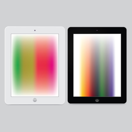 pc: generic tablet pc - ipad like vector tablet pc
