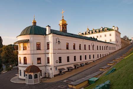 The Kyevo Pecherska Lavra Monastery at Kiev in Ukraine