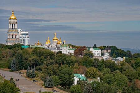 The Kyevo Pecherska Lavra Monastery at Kiev in Ukraine Reklamní fotografie