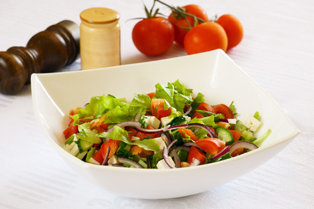 Side dish with vegetable