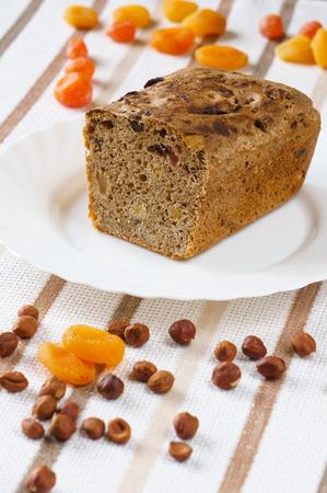 frutas deshidratadas: Pan con frutos secos