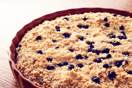blueberry pie: Empanada de ar�ndano