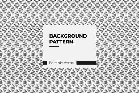 Vertical zigzag chevron seamless pattern background in black and white Illustration