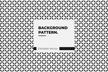 Modern Simple Geometric Vector Seamless Pattern With black Line