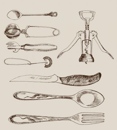 corkscrew: cutlery