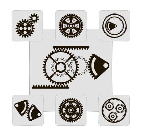 rackwheel: gear  set of designs