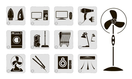 electrical devices Vector