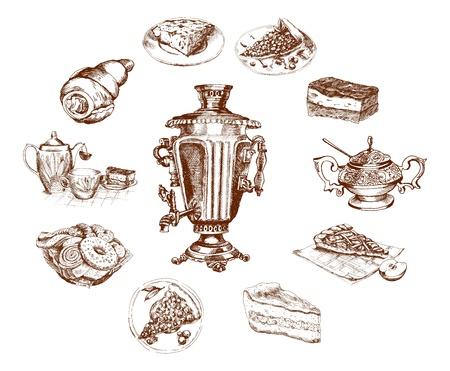 tea party Ilustração