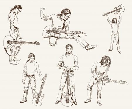 rock guitarist: rock guitarist