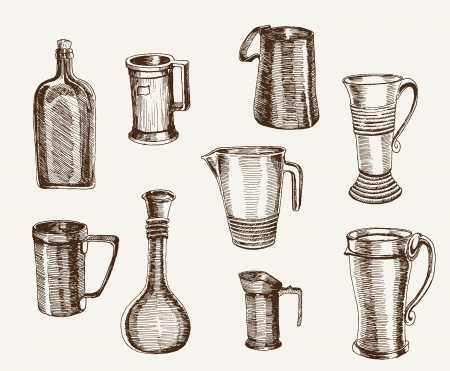 carafe: containers for beverages