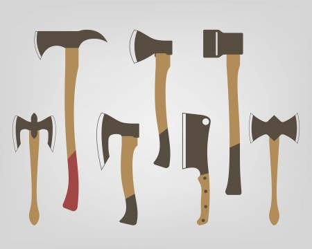 icons of axes Vector