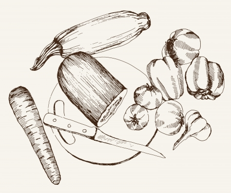 vegetable gardening: vegetables  ingredients for cooking