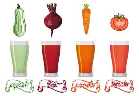 freshly: freshly squeezed juice of four kinds of vegetables