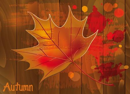 etude: generator sheet. autumnal mood. etude.