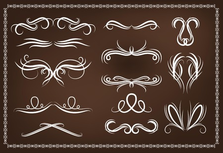 Vector Collection of Decoration, Ornaments and Dividers