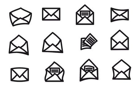 envelopes: set of envelopes