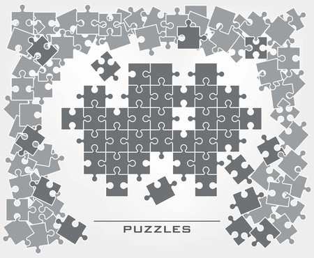 plurality: Background of the plurality of puzzle elements